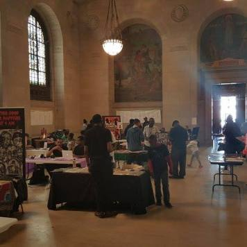 Another shot of the vendor hall.