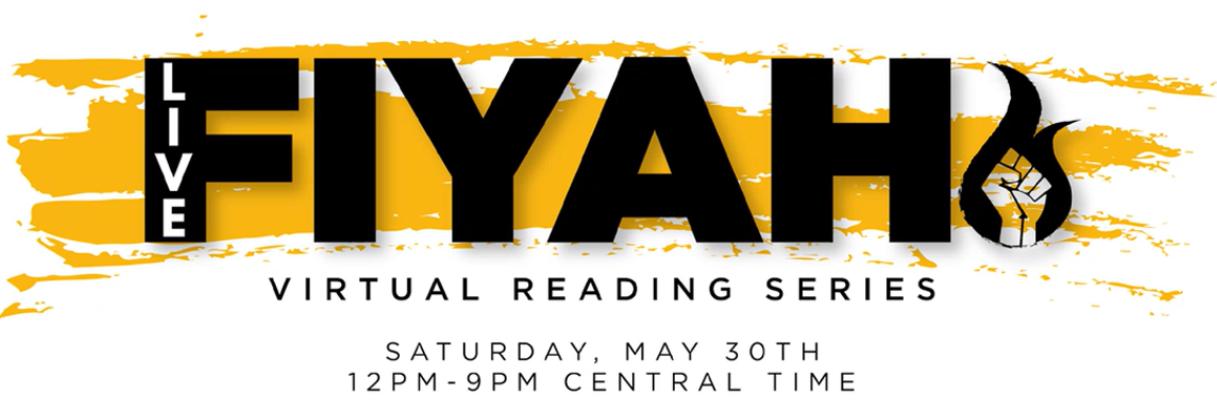 FIYAH virtual reading series logo